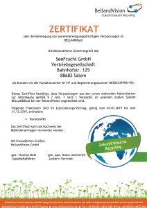 bellandvision-zertifikat